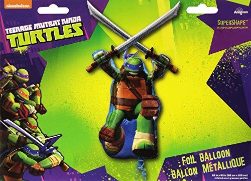 Leonardo Ninja Turtle Foil Super Shape - 1