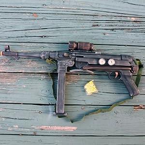 Steampunk cyber shot gun German mp40 Victorian sci-fi pirate BB Airsoft Spring Gun