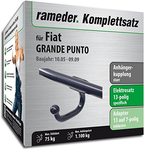 RAMEDER-Komplettsatz-Anhngerkupplung-starr-13pol-Elektrik-fr-Fiat-GRANDE-PUNTO-113527-05450-1