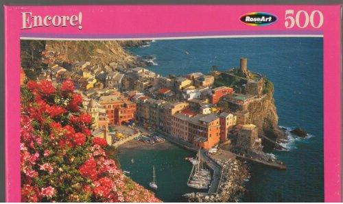 RoseArt Encore Italian Riviera 500 Piece Puzzle