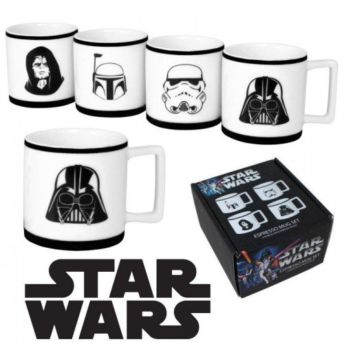 Star Wars Set Of Four Espresso Cups front-463270