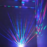 TSSS® E27 LED full color rotating lamp+voice control,stage light,make your party amazing,24 months warranty