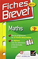Fiches Brevet Maths 3e: Fiches de cours - Troisième