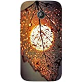 AMAN Charming 3D Back Cover For Motorola Moto E 2nd Gen