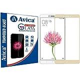 AVICA Full Edge To Edge Cover GOLD Tempered Glass Screen Protector For Xiaomi Mi Max