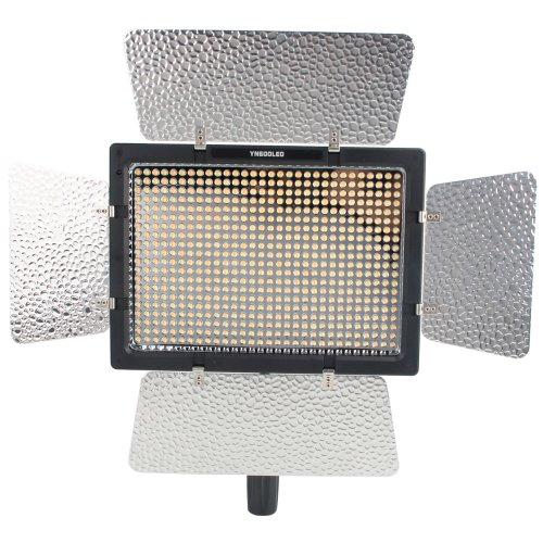 Roll Over Image To Zoom In Yongnuo Yn-600, 3200K - 5500K Color Temperature Led Video Light For Camcorder Or Dslr Cameras