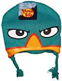 Disney Phineas & Ferb PERRY THE PLATYPUS Youth Size Knitted LAPLANDER Hat/Cap