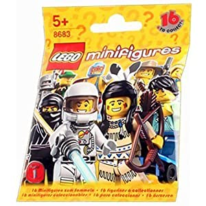 LEGO Minifigures Series 1 Collection (One Random Minifigure)