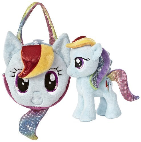 Aurora World My Little Pony Rainbow Dash Pony Tail Carrier (Colors May Vary) by Aurora World