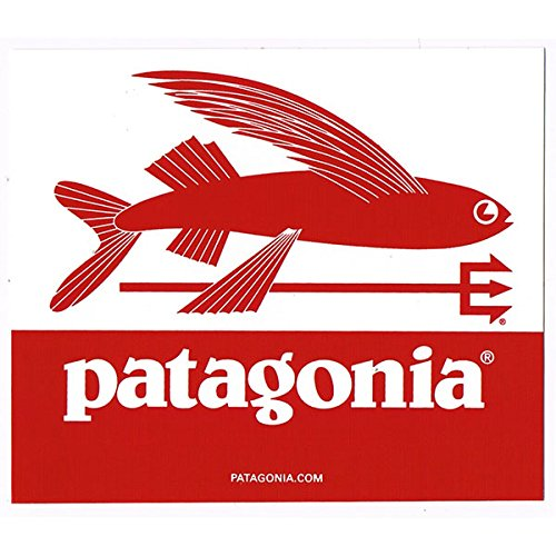 Patagonia trident fish 91930 for Patagonia fish sticker