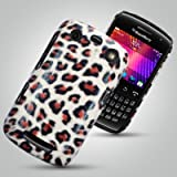 BLACKBERRY CURVE 9360 CASE - QUALITY LEOPARD DESIGN PU LEATHER HARD BACK CASE / COVER / SHELL / SKIN - AND INCLUDING AN ULTRA CLEAR SCREEN PROTECTOR- Accessories for mobile phones by Oliviasphonesby OLIVIASPHONES