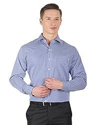 Arihant Men's Cotton Checkered Formal Shirt (AR73040344)