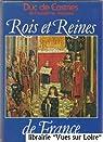 Rois et reines de France par La Croix Castries