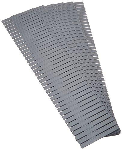 Rangement & Cie RAN7033 Free Organisateur de Tiroir Polypropylène Gris 44 x 44 x 10 cm