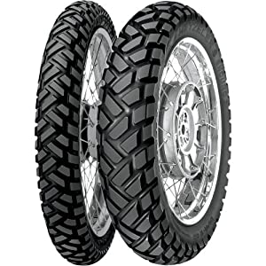 Metzeler Enduro 3 Sahara Tire – Rear – 130/80-17 , Position: Rear, Rim Size: 17, Tire Application: All-Terrain, Tire Size: 130/80-17, Tire Type: Dual Sport, Load Rating: 65, Speed Rating: S 0143900