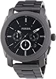 Fossil Herren-Armbanduhr Dress Smoke Ip Quarz Analog FS4662