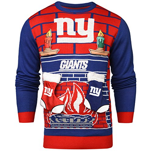 New York Giants Ugly 3D Sweater