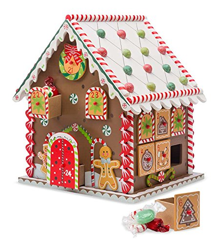 Gingerbread House Advent Calendar (Advent House compare prices)
