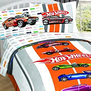 Hot Wheels Twin Bed Sheets