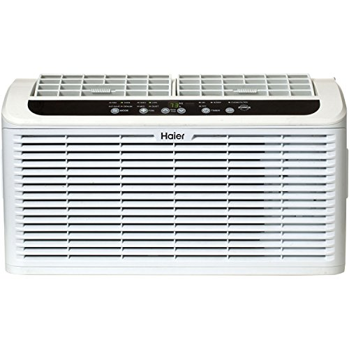 Haier ESAQ406P Serenity Series 6050 BTU 115V Window Air Conditioner with LED Remote Control (Window Acs compare prices)