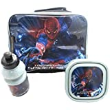Marvel Comics The Amazing Spider Man Childrens Lunch set Box Bottle Bag Official Licensed