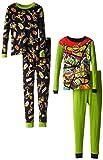 Teenage Mutant Ninja Turtles Little Boys Four-Piece Pajama Set