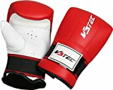 V3TEC Training Ball glove red-white (Size: XL)