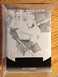 2010-11 Upper Deck French Press Plates Black #201 Cam Fowler 1/1 Young Guns RC