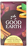 Good Earth Original Sweet and Spicy Caffeine Free, 18-Count Tea Bags (Pack of 6)