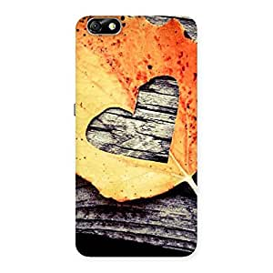 Gorgeous Leaf Heart Back Case Cover for Honor 4X