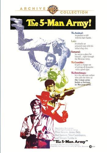 FIVE MAN ARMY (1969)