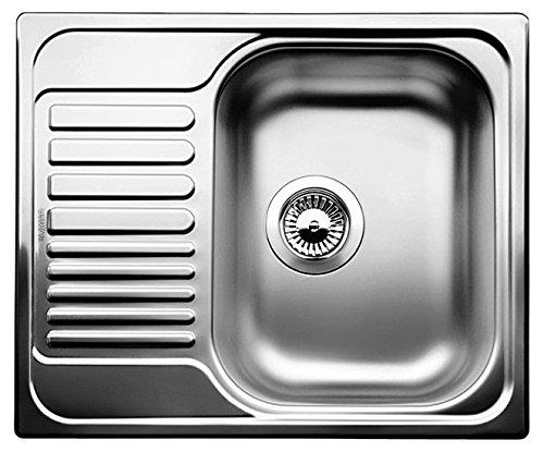 Tipo 45 S Mini Küchenspüle, Edelstahl Naturfinish, 516524