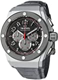 TW Steel Men's CE4001 Quartz Grey Chronograph Dial Stainless Steel Case Watch