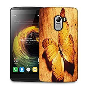 Snoogg Butterfly Designer Protective Phone Back Case Cover For Lenovo Vibe K4 Note