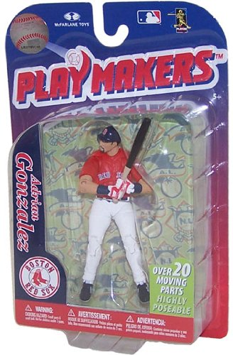 MLB Boston Red Sox McFarlane 2012 Playmakers Series 3 Adrian Gonzalez Action Figure