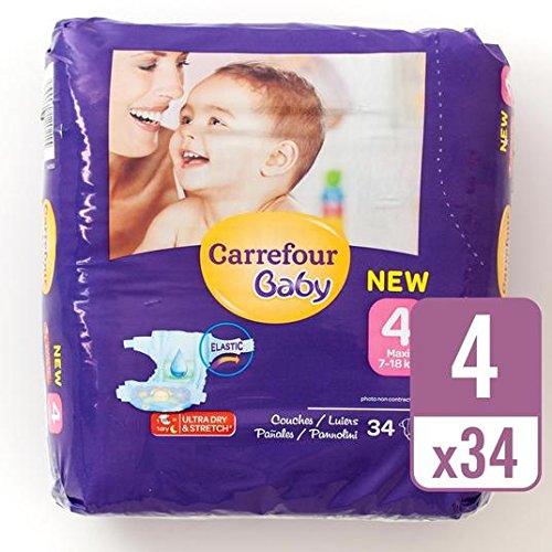 carrefour-bebe-ultra-tamano-de-secado-4-panales-carry-pack-de-34-por-paquete