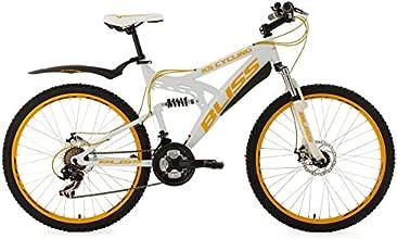 KS Cycling Bliss VTT semi rigide Blanc 26''/47 cm