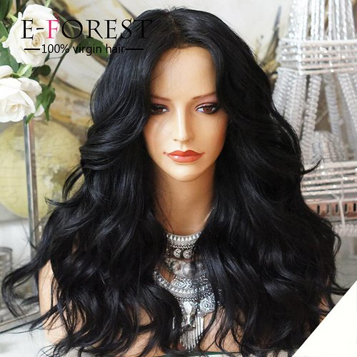 E-forest-hair-7A-12-26-Virgin-Hair-Lace-Front-Wig-Brazilian-Remy-Human-Hair-Wavy-Hair-Wigs-180-Density-Natural-Color-Baby-Hair-12inch-Rth0-03