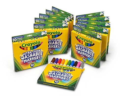 Crayola-10-Ct-Ultraclean-Broad-Line-Washable-Markers