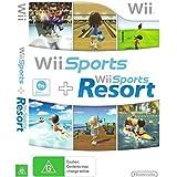 Nintendo Wii Sports / Wii Sports Resort - 2 Games on 1 Disc Bundle Version