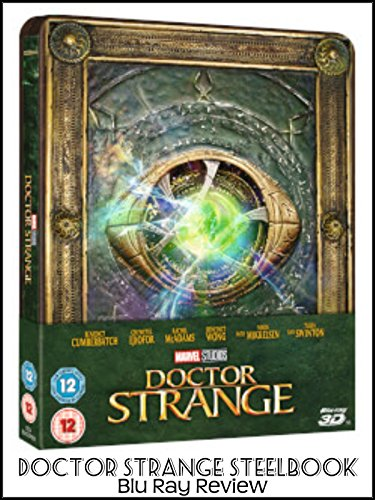 Review: Doctor Strange Steelbook Blu Ray Review on Amazon Prime Video UK