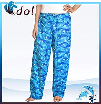 Amazon.com: DOLPHIN Pajama Bottoms or Lounge Pants SIZE XL- Dolphins