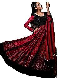 Kashmira's women Georgette embroidered anarkali suit
