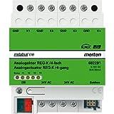 Merten 682291 Analogaktor REG-K/4fach, lichtgrau