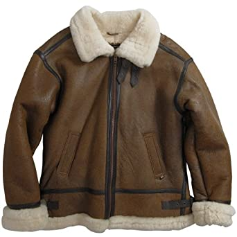 Alpha Industries B-3 Sherpa,X-Large,Brown