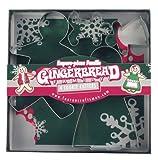 Fox Run Gingerbread Family Cookie Cutter Set
