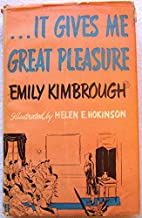 It gives me great pleasure by Emily…