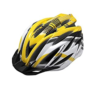 Rainbow flower Cycling mountain bike riding helmet integrally molded with Insect light riding helmet men and women