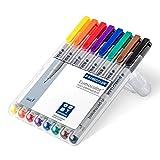 Office Product - Staedtler 316 WP8 Lumocolor Universalstift F-Spitze, circa 0.6 mm, non-permanent, 8 St�ck in aufstellbarer Staedtler Box