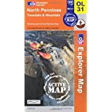 North Pennines: Teesdale and Weardaleby Ordnance Survey